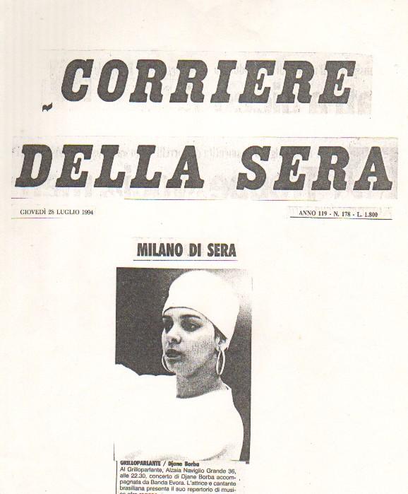 Imprensa Italiana - 94 corriere della sera