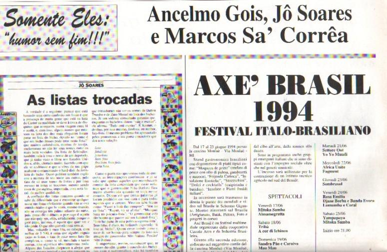 Imprensa Italiana - 94 corriere del brasile