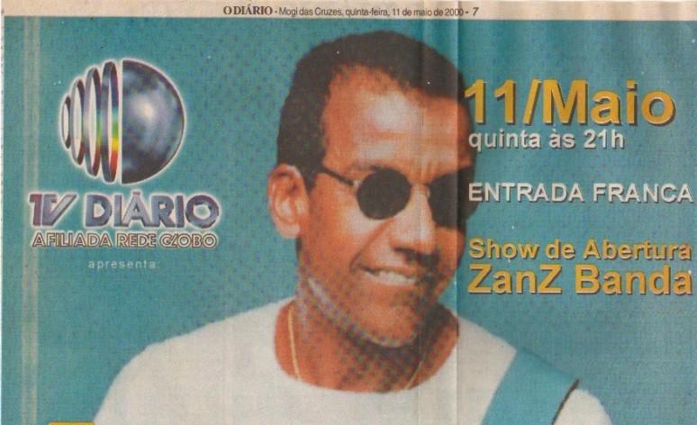 Show abertura Jorge Ben Jor TV Diário