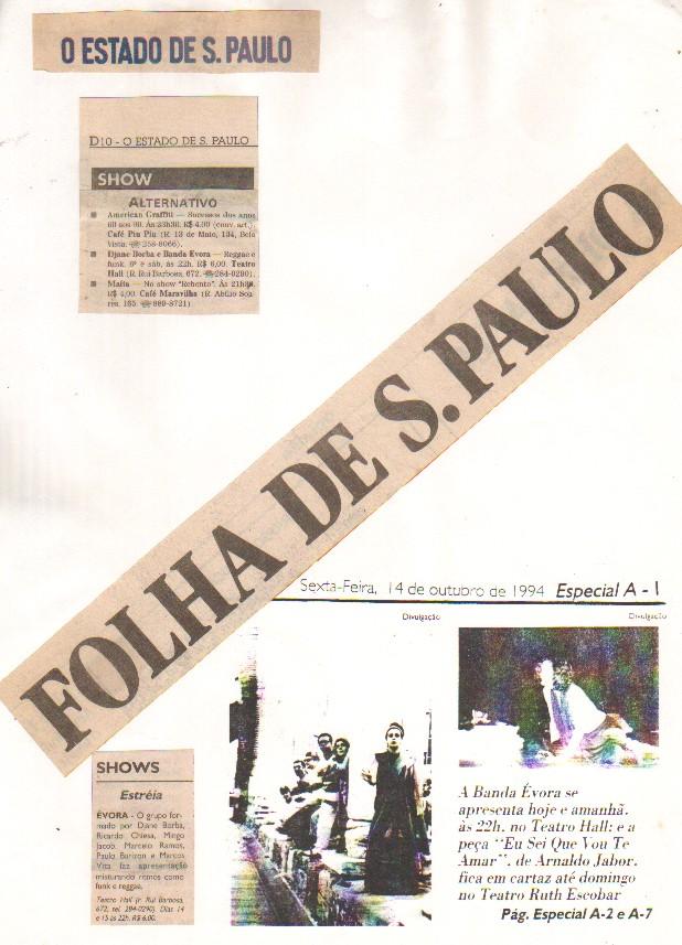 Imprensa Show Banda Évora