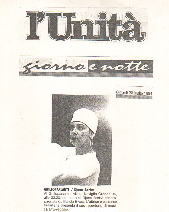 Imprensa Italiana - L´Unita