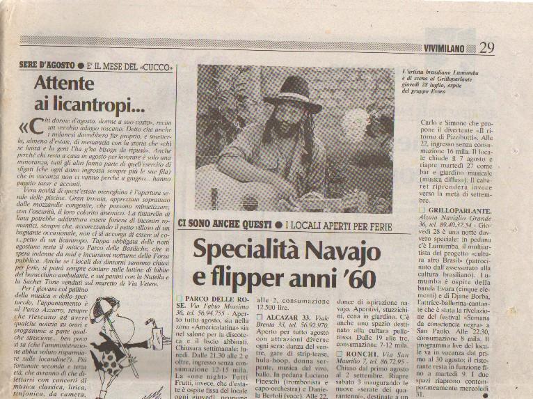 Imprensa Italiana - Vivi Milano